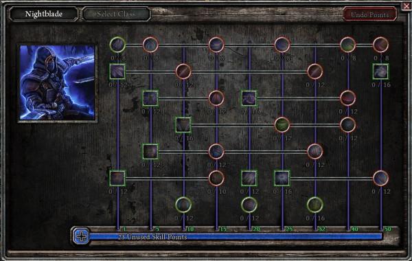 Nightblade Mastery