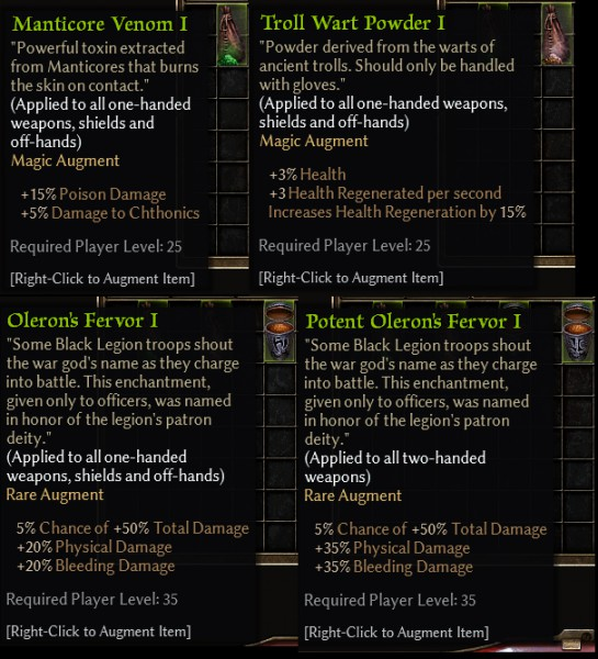 gm60 Weapon Augments
