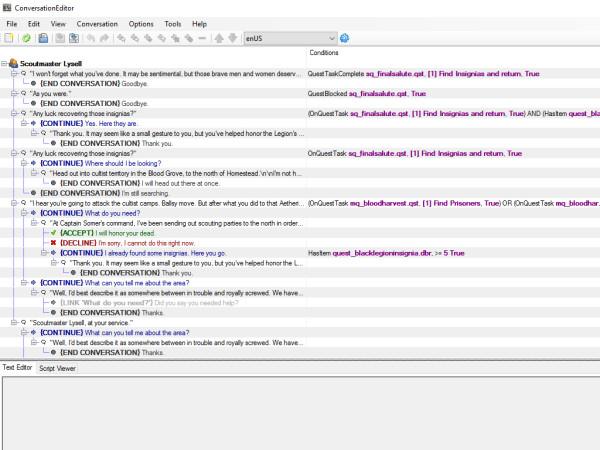 gm92 Conversation Editor